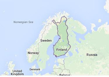 Bản Đồ Phần Lan