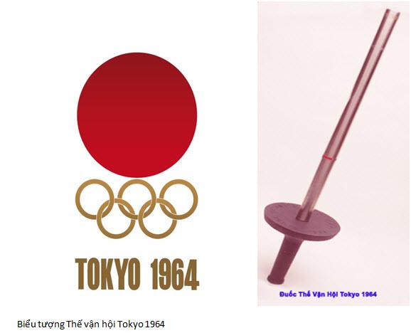 Bieu tương và đuốc tokyo 1964