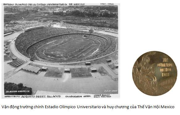 Van Đông trương Mexico 1968