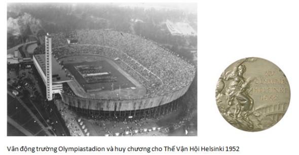 Vận Động Trương va Huy Chuong Helsinki
