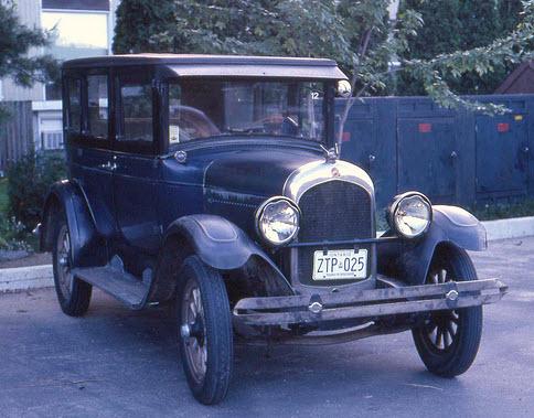 chrysler four 1925