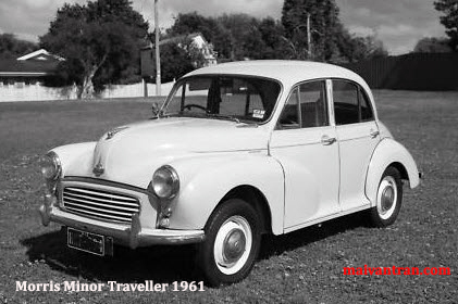 Morris Minor Traveller  Early 1960s
