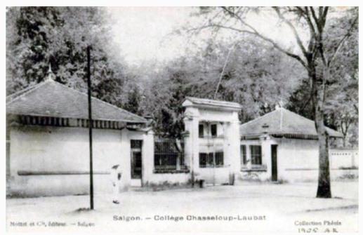 Truong Chasseloup Laubat Saigon
